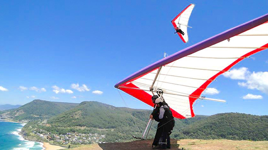 HangglideOz - Hang Gliding Tandem Flights from Stanwell Park